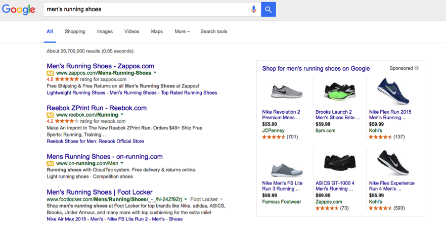 Google Shopping Product Listing Ads
