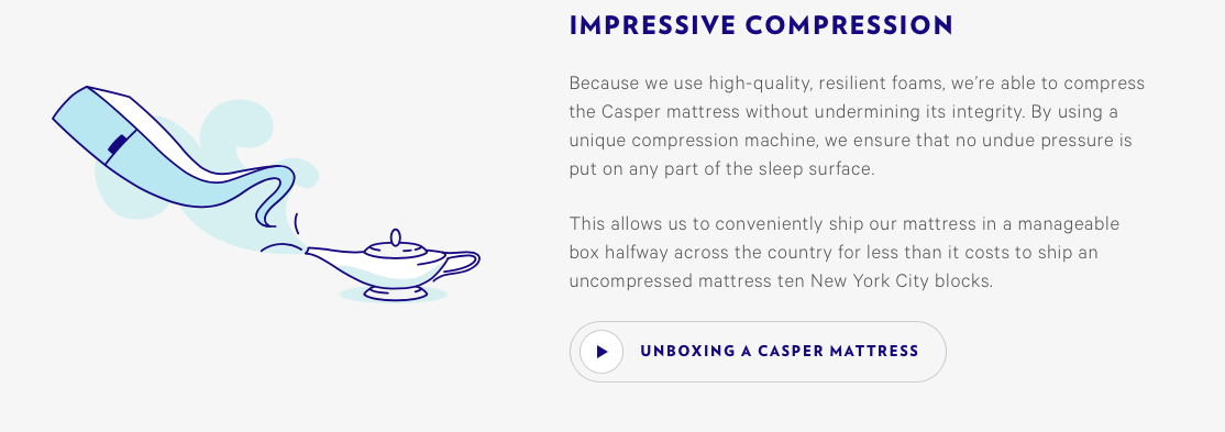 Casper 4 Ways Great Content Boosts E-commerce Sales and Customer Loyalty