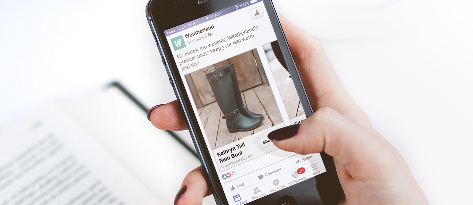 year ahead in social commerce facebook dynamic ad mobile
