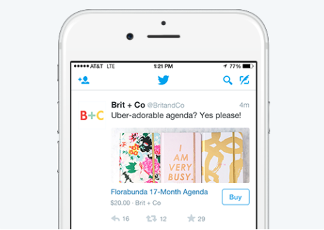 year ahead in social commerce twitter buy button