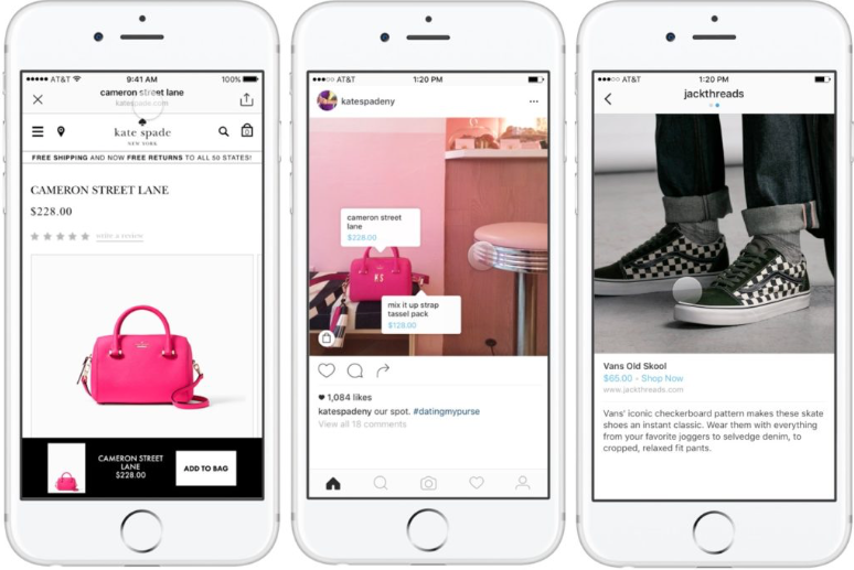 year ahead in social commerce instagram shop tags