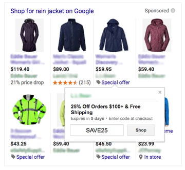Google Merchant Promotions