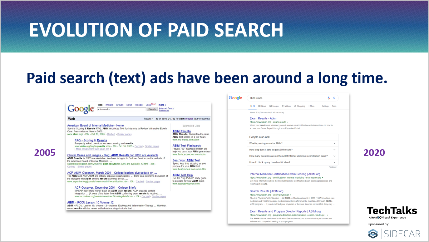 Evolution of Paid Search