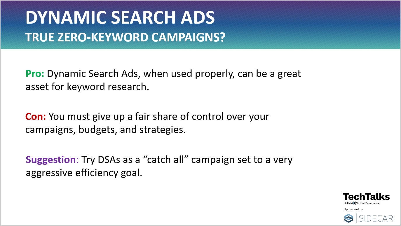 Dynamic Search Ads Pros and Cons