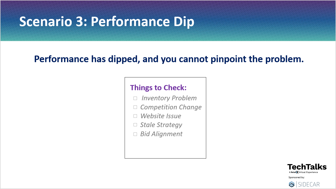 Performance Dip